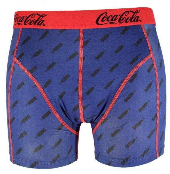 "Coca Cola Herren Boxershorts ""Blue Coke Bottles"" Baumwolle in M|L|XL|XXL"