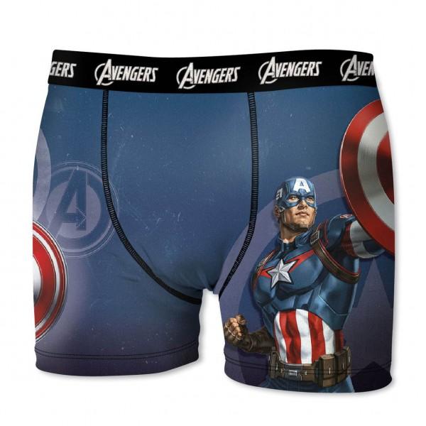 """Marvel Avengers Herren Boxershort """"Captain America"""" in allen Größen"""