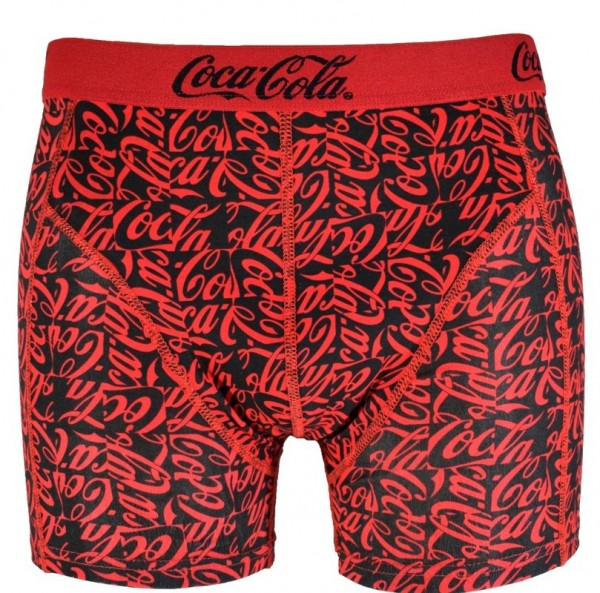 "Coca Cola Herren Boxershorts ""Red Coke Letters"" Baumwolle in M|L|XL|XXL"